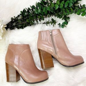 Jeffrey Campbell Hanger Leather Bootie